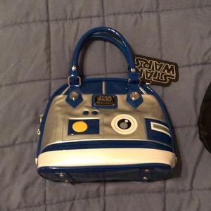 Loungefly R2D2 mini dome bag